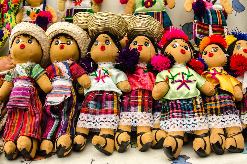 Le Mexicain Handcrafts images stock