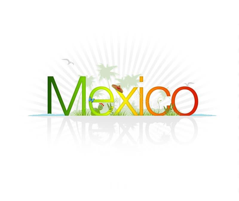 Le Mexique illustration stock
