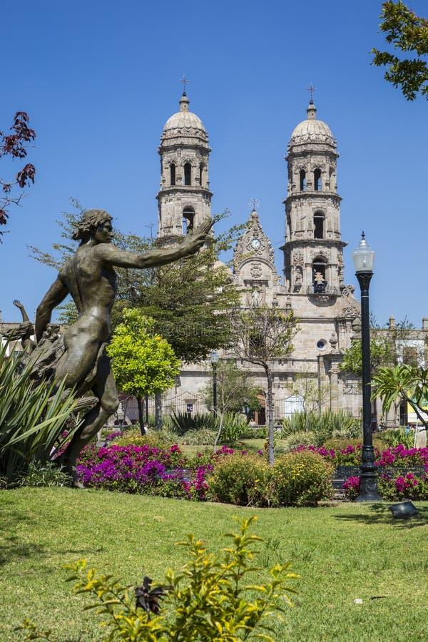 Le Mexique Jalisco, Basilica de Zapopan images libres de droits