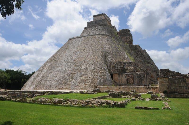 Le Mexique - l'Uxmal photo libre de droits