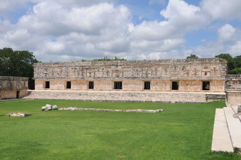 Le Mexique - site d'Uxmal photos stock