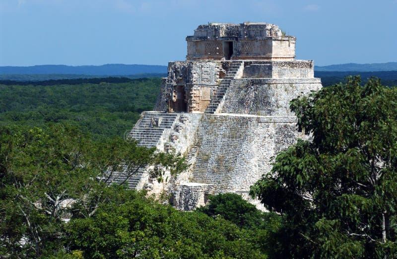le Mexique uxmal photographie stock
