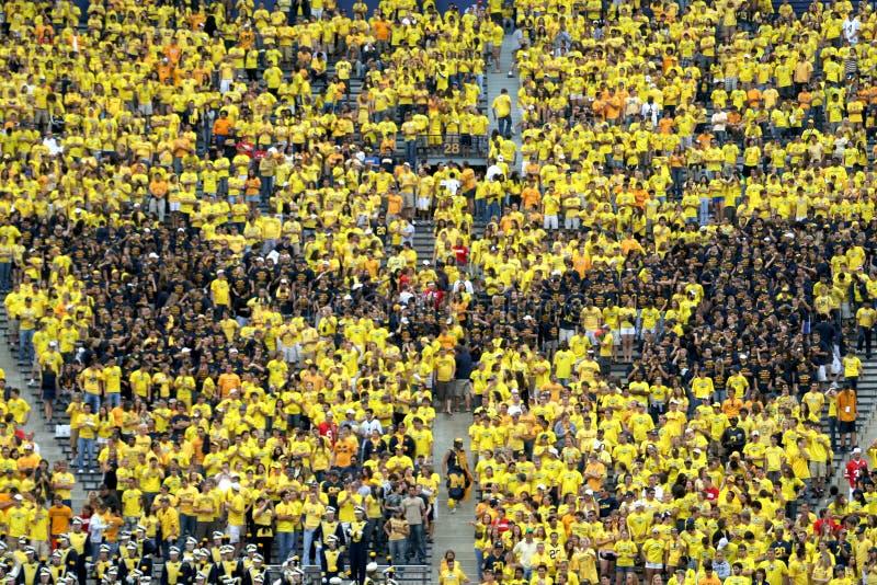 Le Michigan Wolverines M photo libre de droits