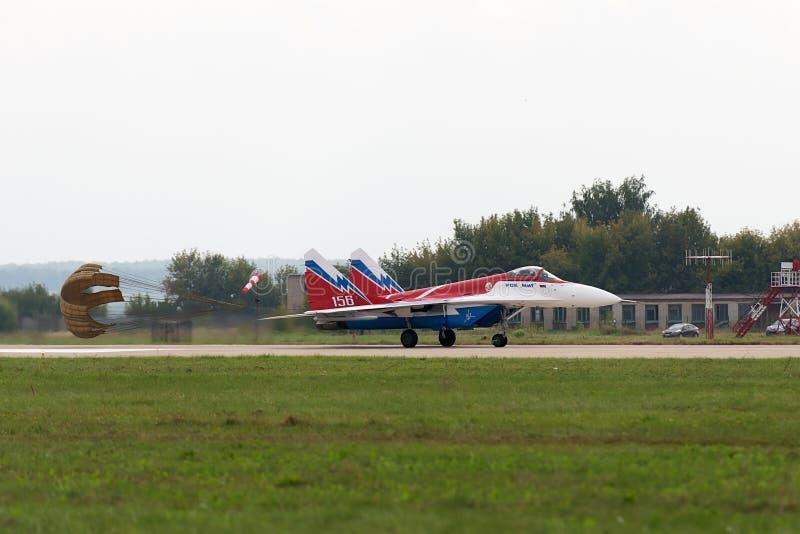 Le MiG-29 photo stock