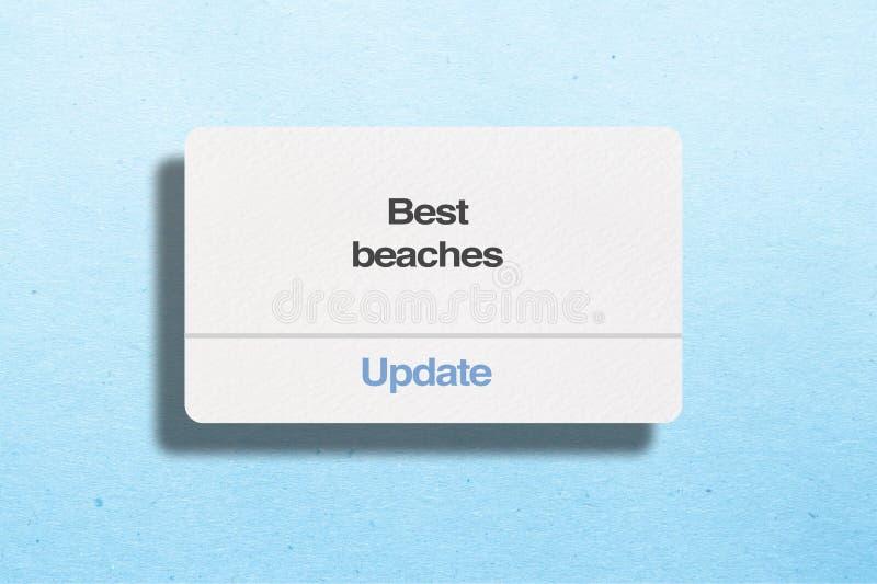 Le migliori spiagge cercano fotografie stock
