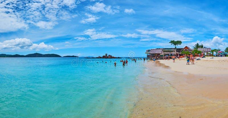 Le migliori spiagge di Phuket, Tailandia immagini stock