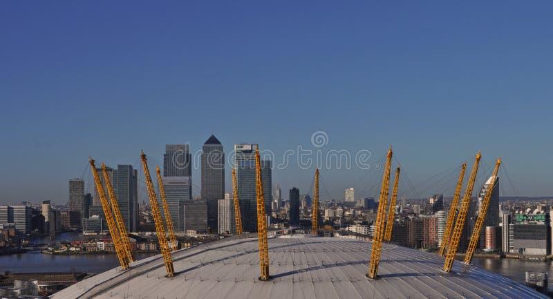 Le Millennium Dome à Greenwich images libres de droits