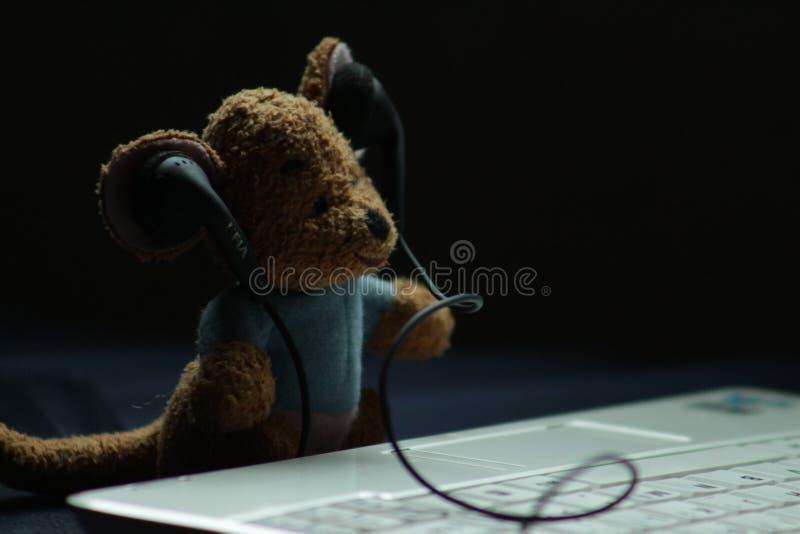 Le mini DJ photo stock
