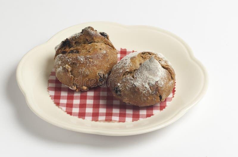 Le mini petit pain de pâtisserie, roulent le dessert doux de nourriture photos stock