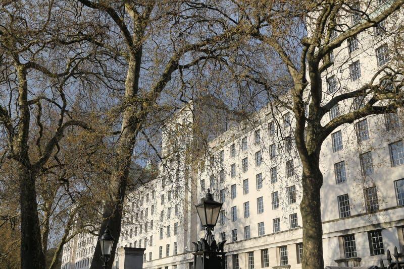 Le ministère de la Défense, Londres photographie stock