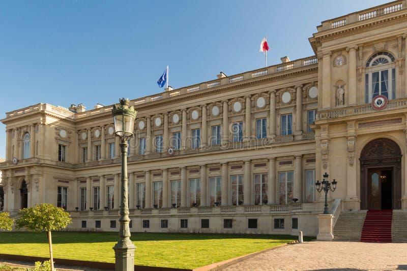 Le Ministère des Affaires Étrangères français, Paris photographie stock libre de droits