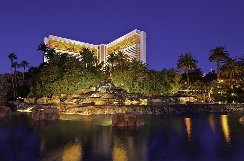 Le mirage, Las Vegas image libre de droits