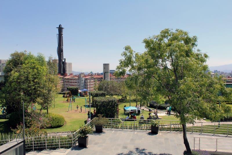 Le miscele naturali con la durata di città di Città del Messico immagini stock libere da diritti