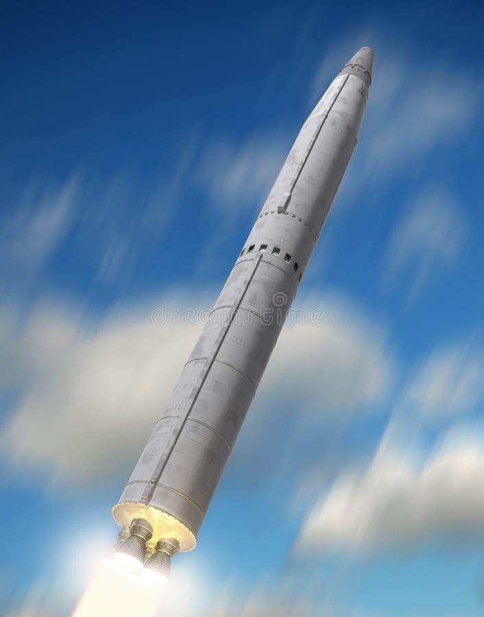 Le missile illustration libre de droits