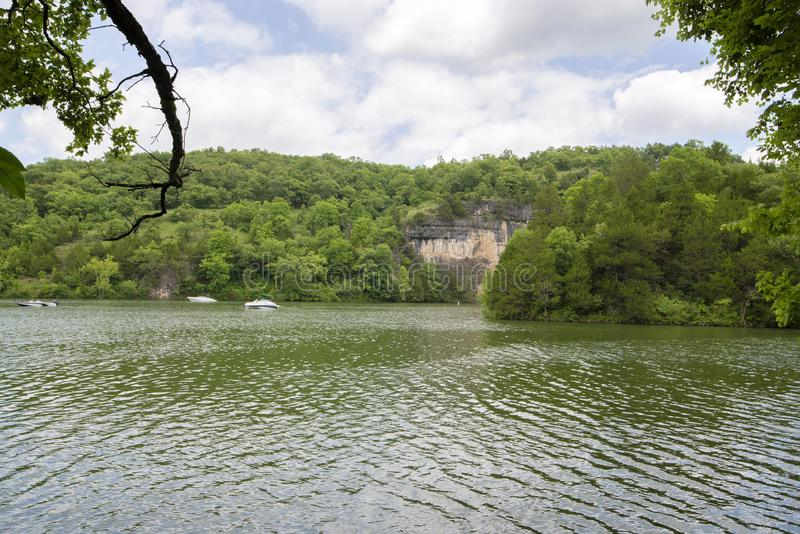 Le Missouri Ozarks photographie stock