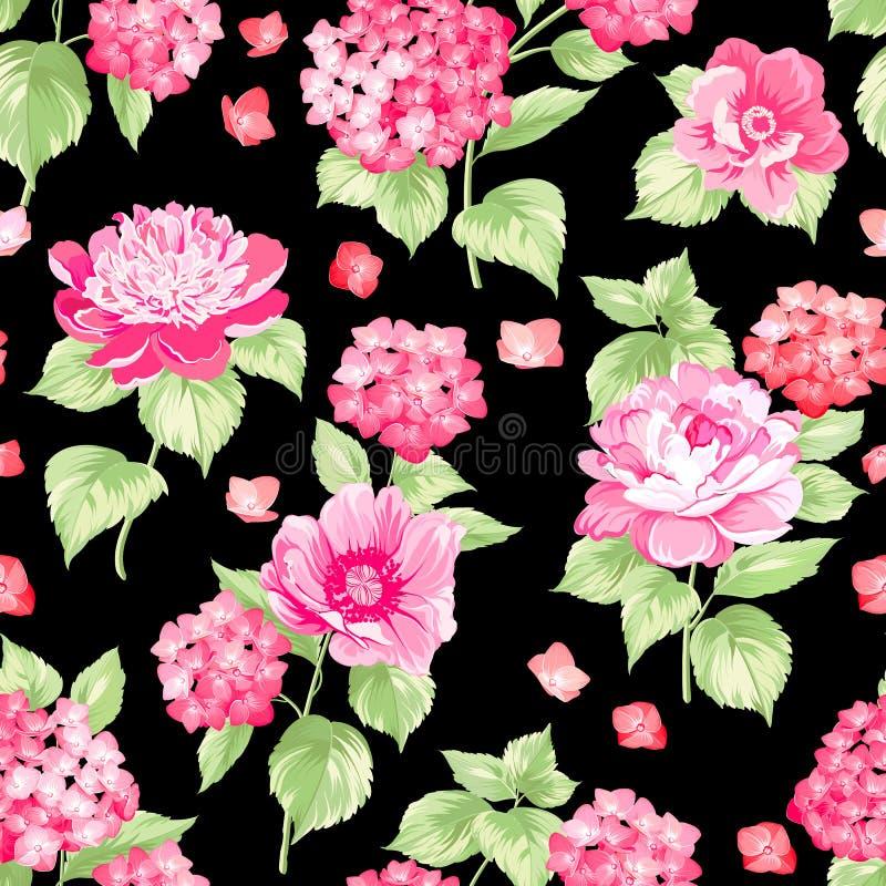 Le modèle de fleur illustration stock