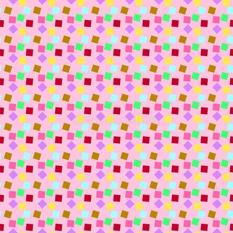 Le modèle de partie de mille-couleur illustration de vecteur