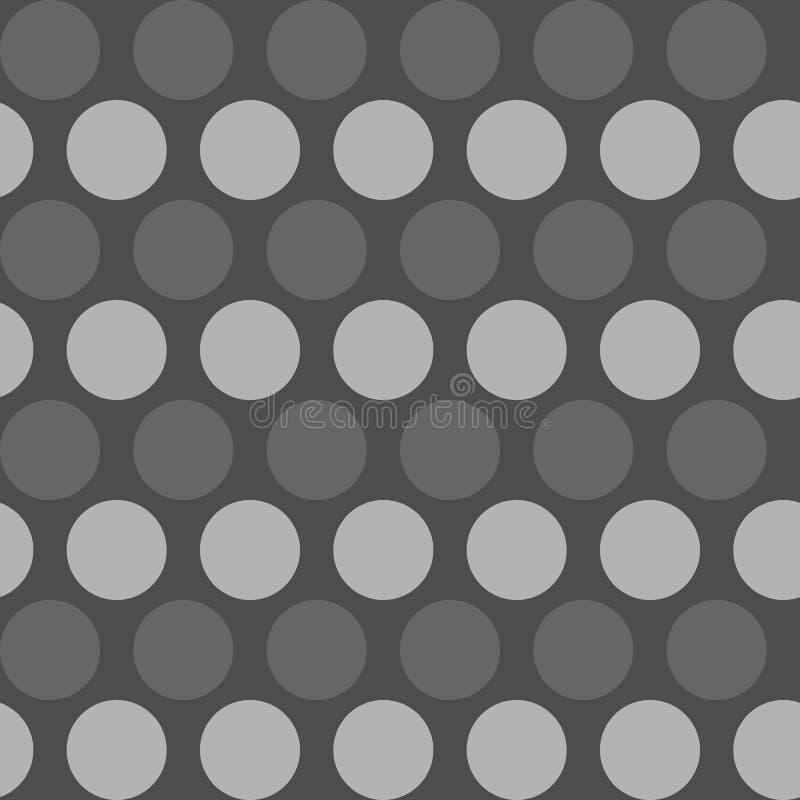 Le modèle de point de polka, dirigent le fond sans couture Ornement géométrique images stock