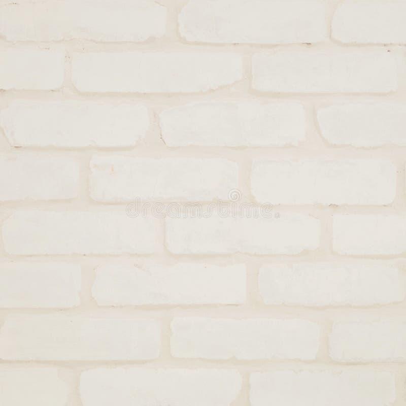 Le Modle Extrieur De Mur De Briques De Plan Rapproch Au Mur Crme