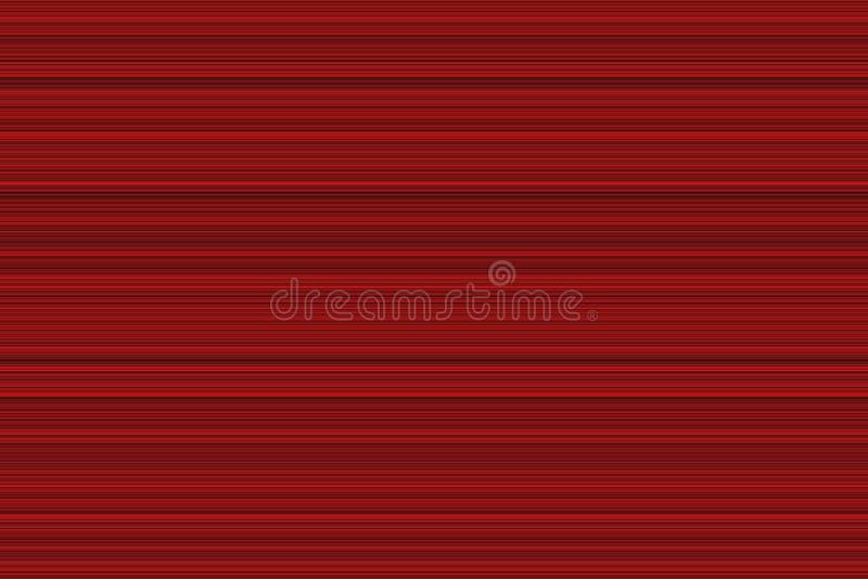 Le modèle horizontal numérique rouge ou la vitesse d'onde sonore raye, fond abstrait illustration libre de droits