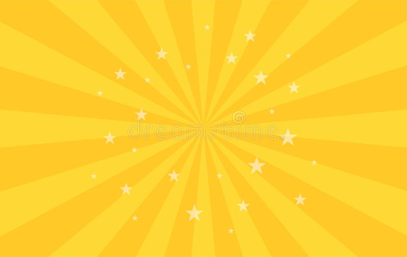 Le modèle radial de tourbillonnement tient le premier rôle le fond Place de pirouette de spirale de starburst de vortex Rayons de illustration de vecteur