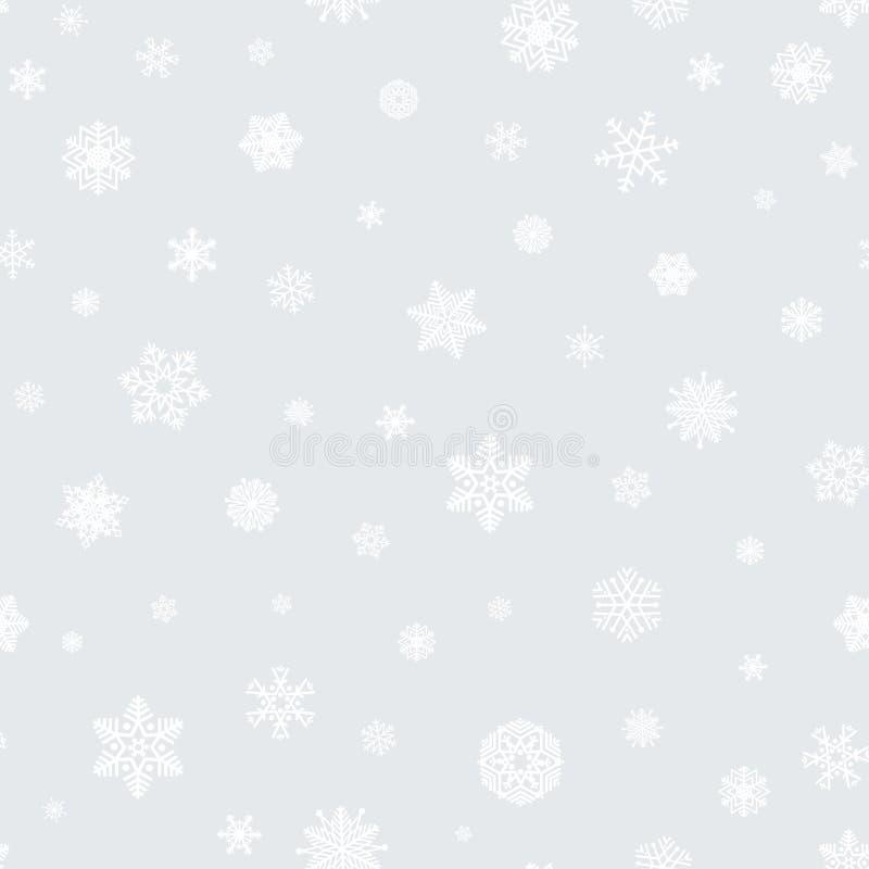 Le modèle sans couture d'icônes de Noël, des vacances d'hiver heureuses couvrent de tuiles de retour illustration libre de droits