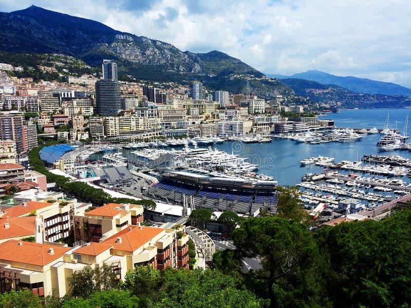 Le Monaco et Formule 1 image stock