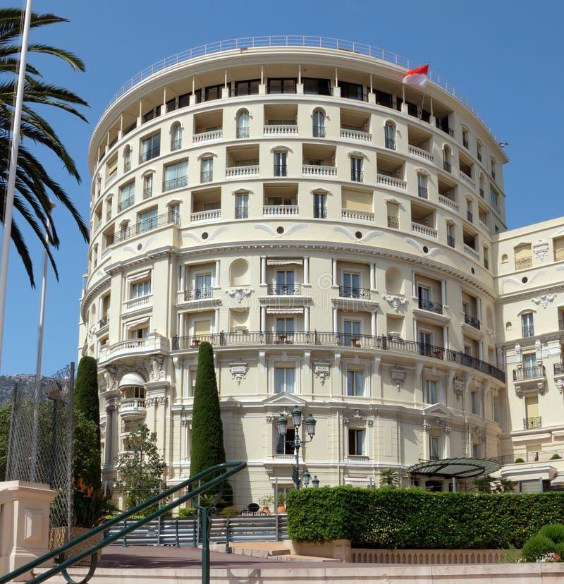 Le Monaco - hôtel De Paris images libres de droits