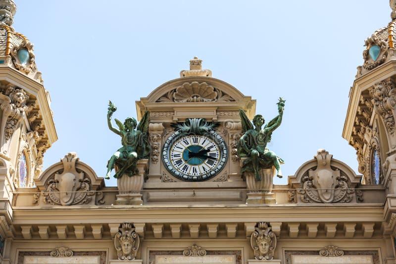 Le Monaco 02 Juin 2014, Monte Carlo Grand Casino Un du world photo libre de droits