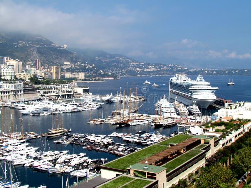 Le Monaco, l'Europe images libres de droits