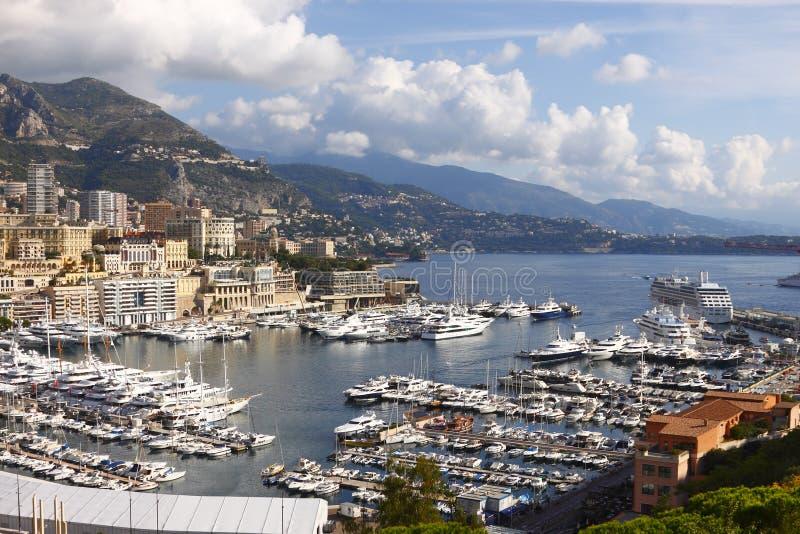 Le Monaco, Monte Carlo images libres de droits