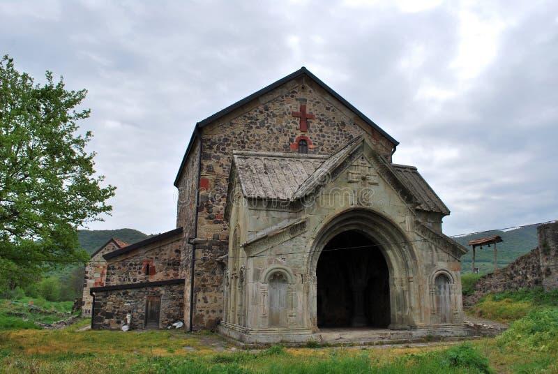 Le monastère antique dans Dmanisi photos stock