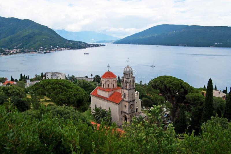 Le monastère de Savina est un monastère orthodoxe serbe images libres de droits