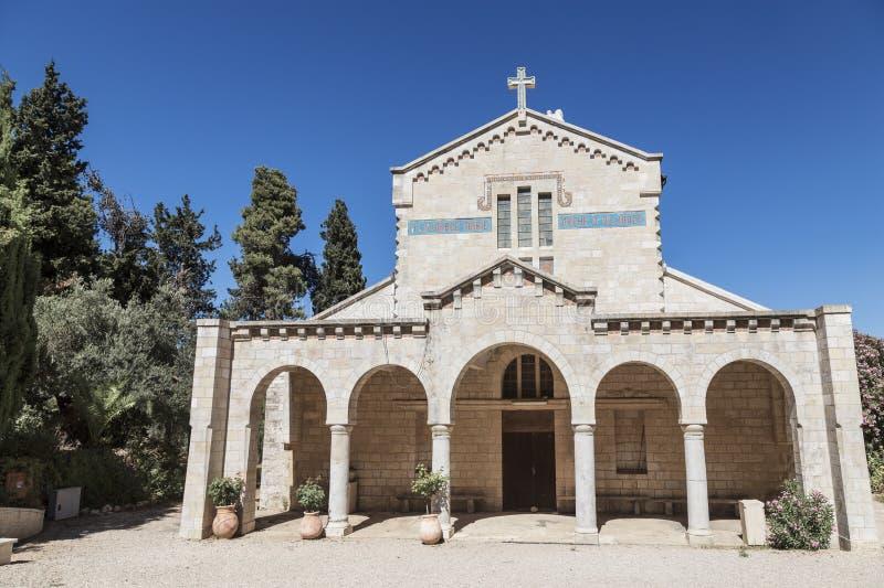 Le monastère de Vierge Marie et de l'arche de l'engagement, Abu Ghosh images libres de droits