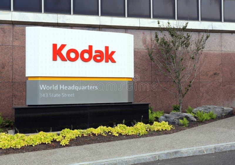 Le monde de Kodak siège le bâtiment photos libres de droits