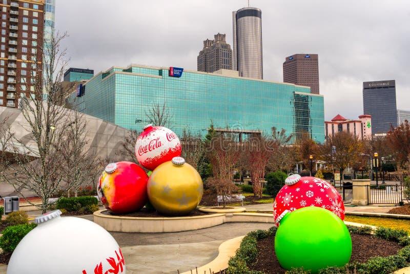 Le monde du Coca-Cola, Atlanta, Etats-Unis photos stock