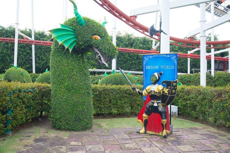 Le monde rêveur est l'un des parcs à thème célèbres de la Thaïlande dans Pathumtanee, Thaïlande photos libres de droits