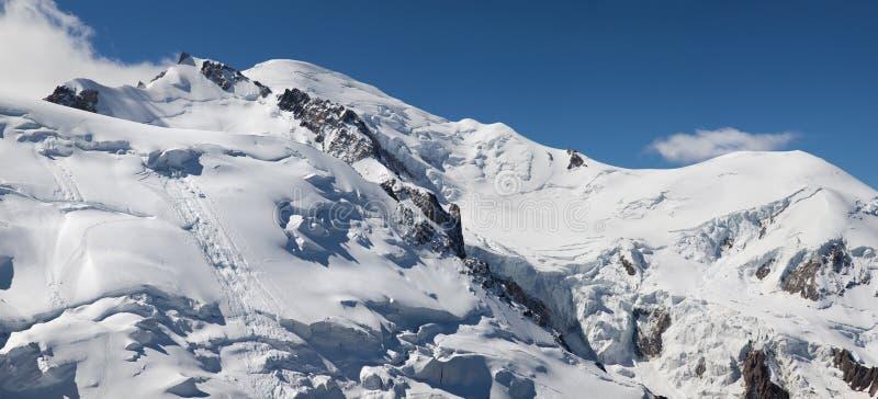 Le Mont Blanc lizenzfreie stockfotos