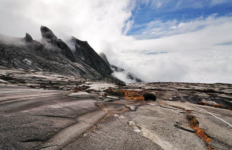 Le mont Kinabalu, Sabah Borneo Malaysia image libre de droits