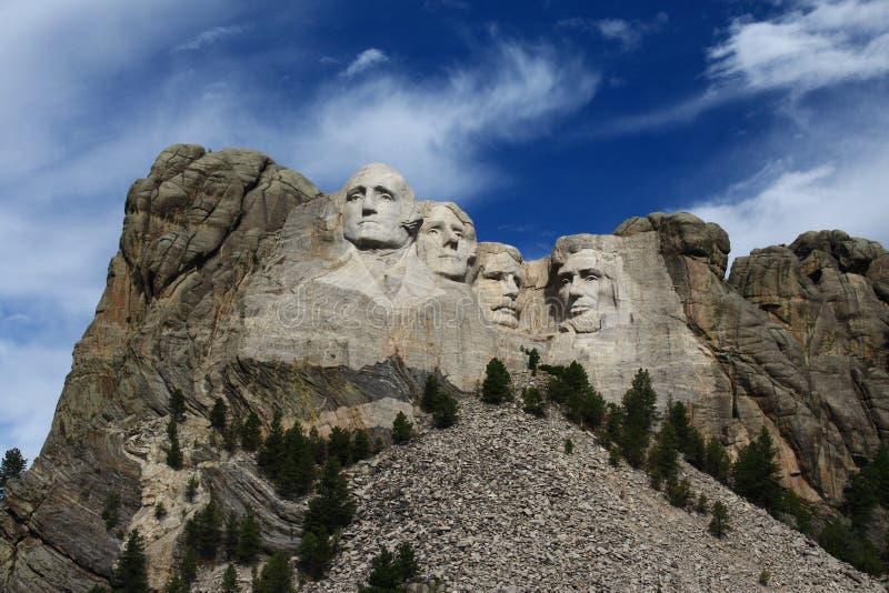 Le mont Rushmore images libres de droits