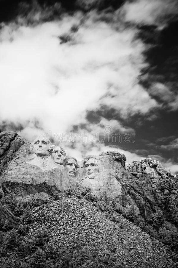 Le mont Rushmore images stock