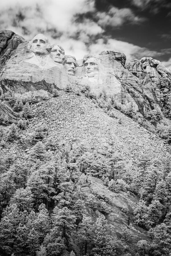 Le mont Rushmore photographie stock libre de droits