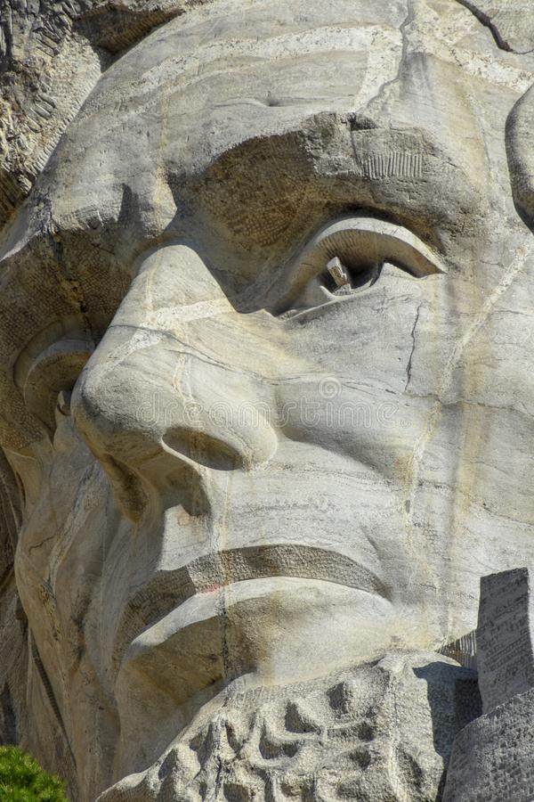 Le mont Rushmore Abraham Lincoln photos stock