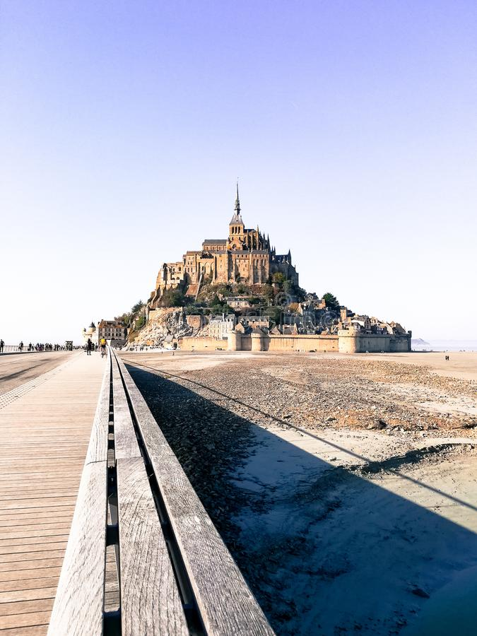 Le Mont Saint-Michel immagine stock