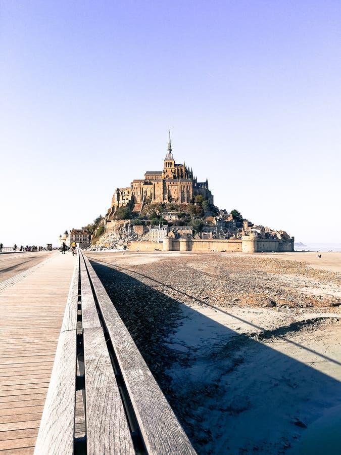 Le Mont Saint-Michel imagem de stock