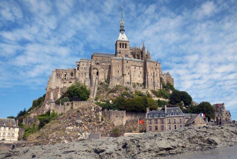 Download Le Mont Saint Michel stock photo. Image of structure - 15425064