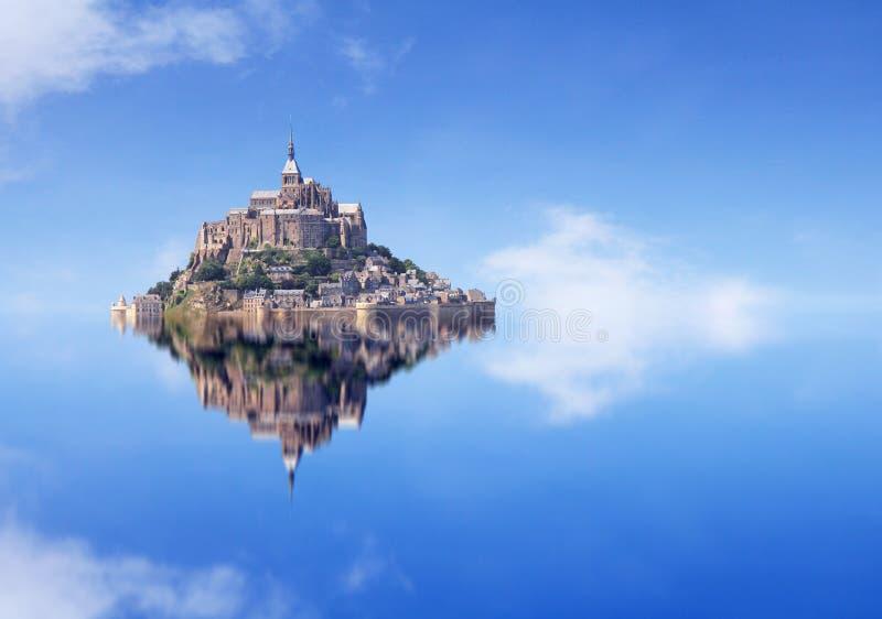 Le Mont Saint Michel stock fotografie
