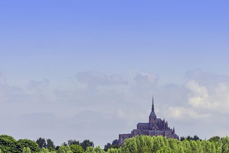 Le Mont Saint Michel - Normandie, France photographie stock libre de droits