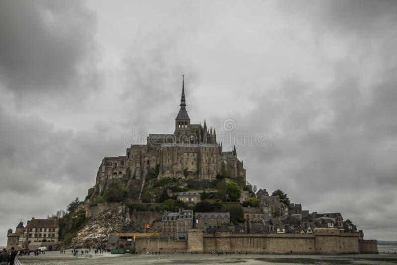 Le Mont-Saint-Michel, Normandy imagem de stock