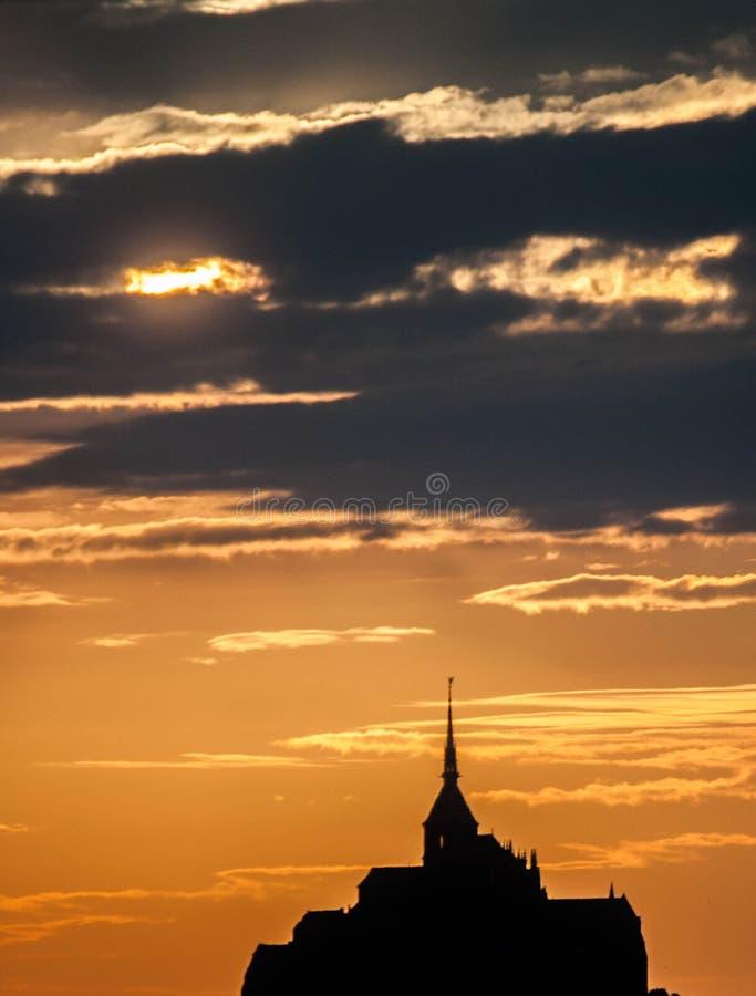 Le Mont Saint Michelle fotos de stock